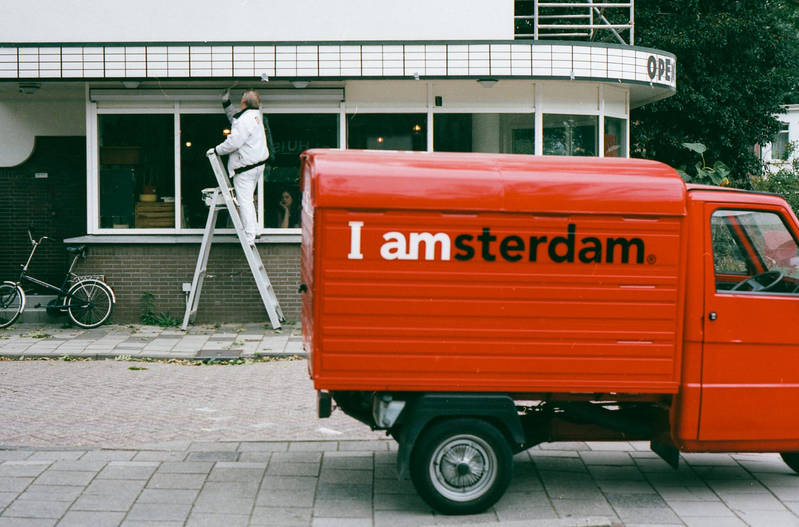 Painter in Amsterdam